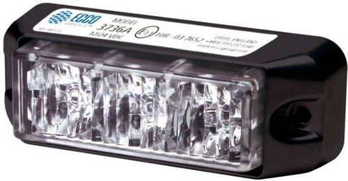 ECCO VARSELLYS 3 LED GUL 12/24V (3736A)