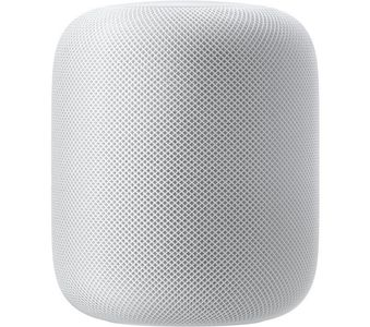 APPLE Apple HomePod Smart Speaker with Siri Voice Assistant + Apple Music (MQHV2D/A)