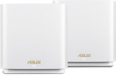 ASUS ZENWIFI AX /XT8/ AX6600 2 PACK WIFI SYSTEM WHITE IN (90IG0590-MO3G40)
