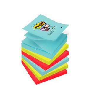 3M Post-it Super Sticky Z-Notes miami (6) (7010416537*12)
