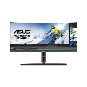 "ASUS 34"" LED Curved ProArt PA34VC 3440x1440 IPS, 5ms, 1000:1, Speakers, 2xHDMI/ DP/ USB-C Thunderbolt 3 (PA34VC)"