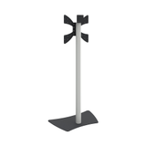 SmartMetals Design stand for flat panels max. 55 inch, 30 kg (H = 1310 - 1510mm) - max. 55 inch (max. 30 kg)