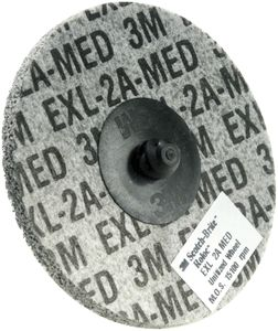 3M Rondel XL-DR 2A MED grå/sort ø75 mm (PN17186)