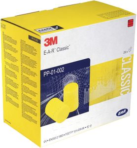 3M EAR Classic ørepropper,  250par (PP01002)