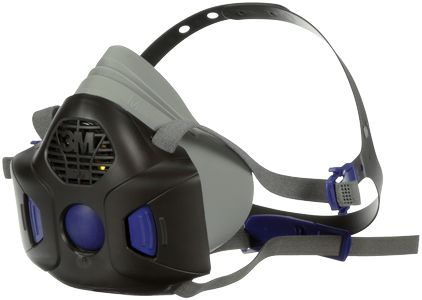 3M SecureClick halvmaske Small HF-801 (HF-801)