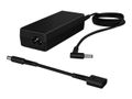 HP 65W Smart AC Adapter  4.5mm + 7.4mm DONGLE   Specre 13 Pro, Elitebook 1040/ 8xx/ 7xx,  Pro x2 612, Probook 6xx/4xx, 35x, 25x