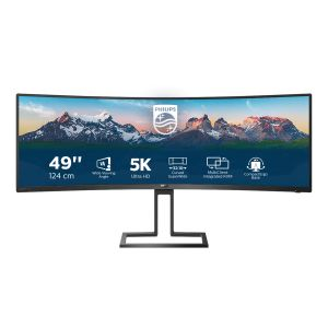 """PHILIPS 498P9 48.8"""" Curved Monitor (498P9/00)"""