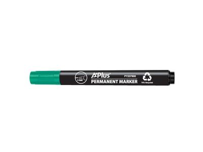 A+ Marker A PLUS eco rund 1-3mm grøn (PY237800GNB*10)