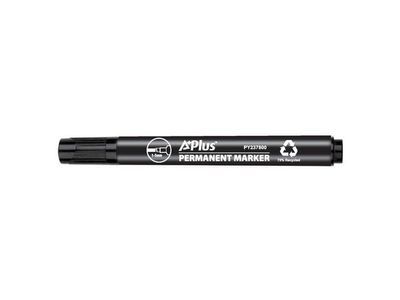 A+ Marker A PLUS eco skrå spids 1-5mm sort (PY237800BKC*10)