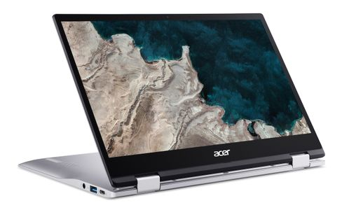 ACER Chromebook Spin 513 CP513-1HL-S15S 2 in 1 Snapdragon SC7180 13.3inch FHD Multi-Touch 8GB RAM 64GB eMMC Chrome OS 1YW (NX.HX1ED.002)