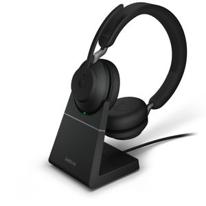 JABRA Evolve2 65 - USB-C MS Teams Stereo with Charging stand - Black (26599-999-889)