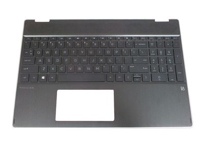 HP TOP COVER NSV W KB BL NFPR CS (L51520-FL1)