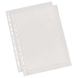 ESSELTE Pocket Standard 55my A4 Glassclear Box of 100 (56066)