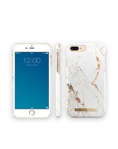 iDEAL OF SWEDEN IDEAL FASHION CASE IPHONE 7 PLUS CARRARA GOLD (IDFCA16-I7P-46)