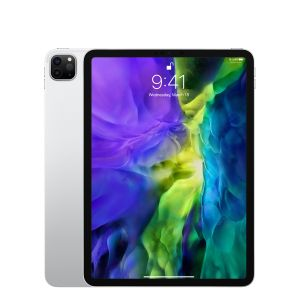 "APPLE iPad Pro 11 (2020) 128GB WiFi sølv WiFi, 11"" Retina-skjerm True Tone (2388x1668),  Face ID, USB-C tilkobling (MY252KN/A)"