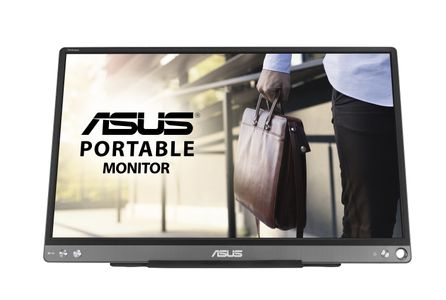 "ASUS LCD ASUS 15.6"" MB16ACE ZenScreen Portable USB-C Monitor 1920x1080p IPS 60Hz Matte Panel (90LM0381-B04170)"