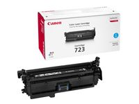 CANON COLOR CARTRIDGE 723 , Toner Cyan 8500 sider (2643B002)