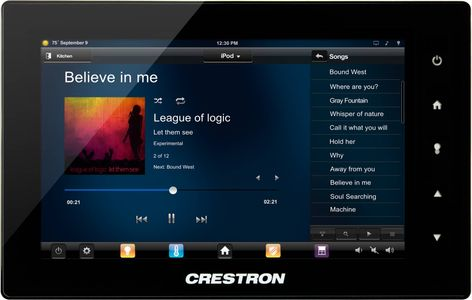 "Crestron 10.1"" Touch Screen (TSW-1052-W-S)"