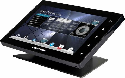 Crestron Tabletop Kit for TSW-1060, Black Smooth (TSW-1060-TTK-B-S)