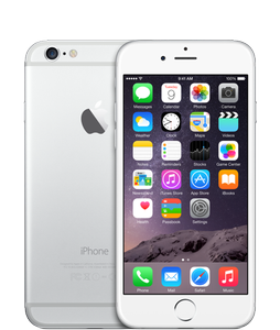 APPLE iPhone 6 Silver (64 GB) (MG4H2QN/A)