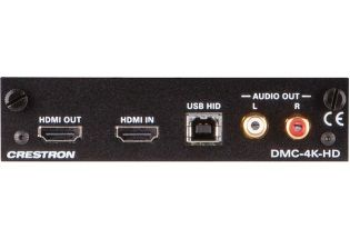 Crestron DM singel HDMI input. Supports 4K Sources (DMC-4K-HD)