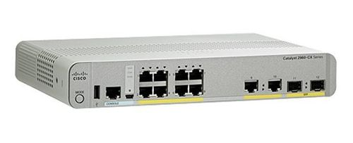 CISCO CATALYST 2960-CX 8 PORT DATA LAN BASE (WS-C2960CX-8TC-L)