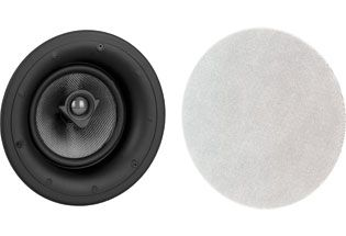 "Crestron SPK, CEILING, 6.5""WOOFER, .75""TWEETER, PAIR, TXTR WHT (ASPIRE IC6-W-T)"