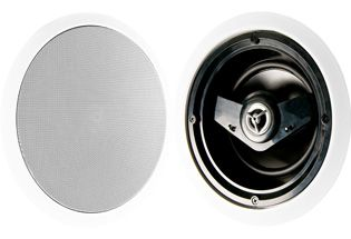 """Crestron Excite™ 6.5"""" 2-Way In-Ceiling Speakers (EXCITE IC6-W-T)"""