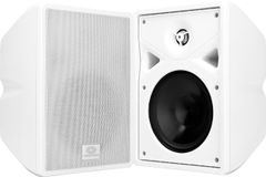 "Crestron SPK,SURFACE,6.5""WOOFER,25MM HORN TWTR,XMFR,T WHT"