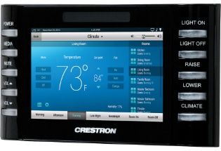 """Crestron 4.3"""" Touch Screen Control System - Smooth white (TPCS-4SM-W-S)"""