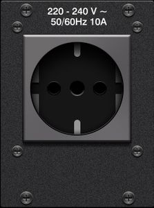 Crestron FlipTop™ AC Power Outlet Modules (FTA-PWR-221)