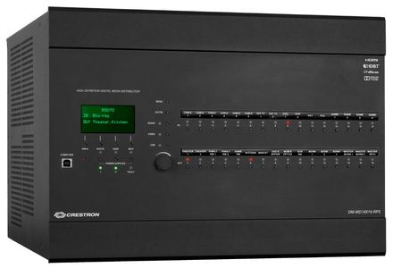 Crestron 16x16 DigitalMedia™ Switcher w/ Redundant Power Supply (DM-MD16X16-RPS)