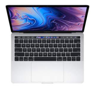 "APPLE MacBook Pro 13"" Retina m/Touch Bar Silver, Quad-core i5 2,3GHz, 8GB RAM, 256 SSD, Intel Iris Plus Graphics 655, 4 x TB3 ports (2018) NB! 1Y Warranty (MR9U2H/A)"