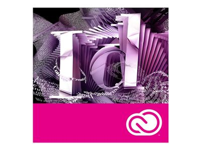 ADOBE VIP InDesign CC for teams MLP 12M (ML) Licensing Subscription Renewal Level 1 (65297560BA01A12)