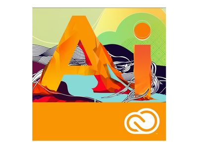 ADOBE Illustrator CC ALL New Enterprise Subscription Education Named license Multiple Platforms Multi Language - Education - Education Named license (65276899BB02A12)