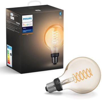 Philips Hue globe G93 E27 7W W 2100K BT filament (929002241401)