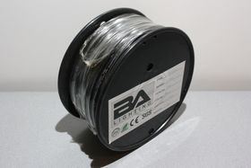 BA PN 4mm² sort (50m) (BA125-BK)