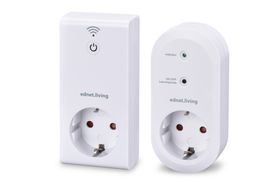 EDNET Living Power Starter Kit 1 sentralenhet og 1 smart-stikkontakt 230V, 16A (EDNET-84290)