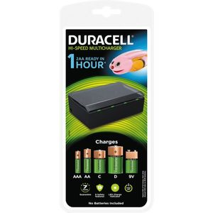 DURACELL 1hr Multi Charger (5000394088313-)