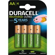 DURACELL Recharge Ultra AA 2500mAh 4pk - Precharged