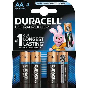 DURACELL Ultra Power AA 4pk (5000394002562-)