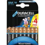 DURACELL Ultra Power AAA 16pk