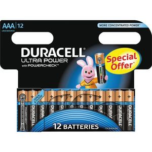 DURACELL Ultra Power AAA 12pk (5000394105607-)