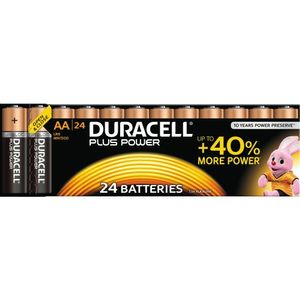 DURACELL Plus Power AA 24pk (5000394019508-)
