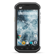 "CAT S40 Black 4.7"" Gorilla Glass 4, 8MP, 1GB RAM, 16GB, støtsikker,  støv- og vanntett (IP68), Android 5.1 (CAT-S40)"