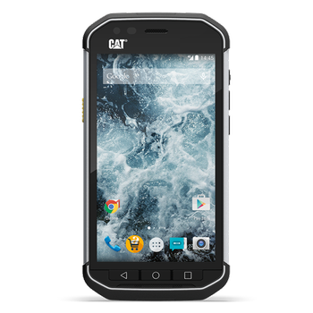 "CAT S40 Black 4.7"" Gorilla Glass 4, 8MP, 1GB RAM, 16GB, støtsikker,  støv- og vanntett (IP68), Android 5.1 - Demovare (CAT-S40-Demo)"