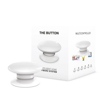 FIBARO The Button hvit Z-Wave (4512436)