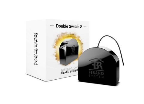 FIBARO Double Switch 2 Dobbelt relé 2 x 6,5A - 1500W Z-Wave+
