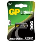 GP Batteri Lithium CR123A 3V