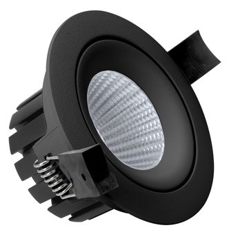 BA Aurora 10W LED Downlight Sort